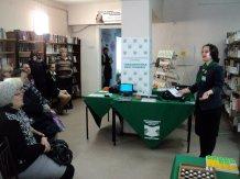 Социокультурный проект «Библиотека без границ»